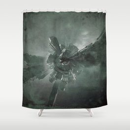 Spiralis 55 Shower Curtain