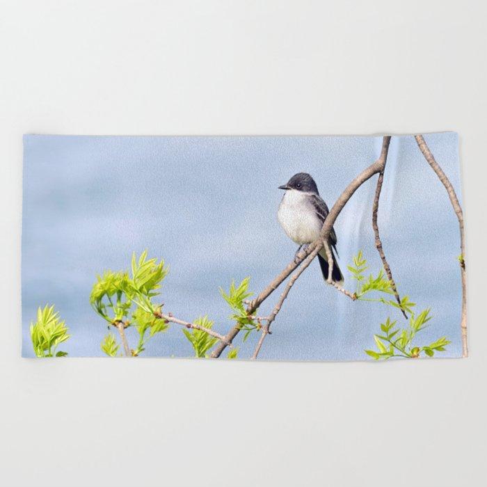 Spring King Beach Towel