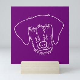 Scruffy Puppy Mini Art Print