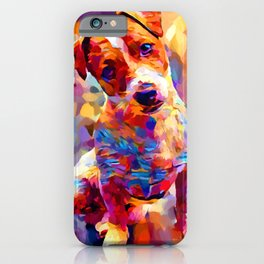 Jack Russell Terrier 3 iPhone Case