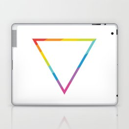Pride: Rainbow Geometric Triangle Laptop & iPad Skin