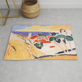 Henri Matisse View of Collioure Rug