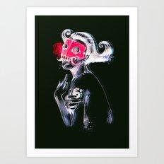 The Demon Queen Art Print