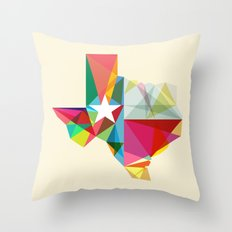 Texas State Of Mind Throw Pillow