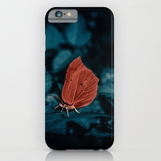 Red in the dark iPhone & iPod Case