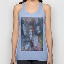 Abstract night Unisex Tank Top