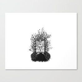 Yoga Mind Canvas Print