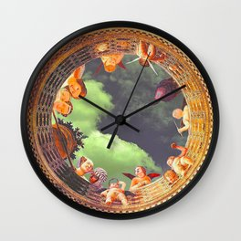 THE WELL OF SOULS Wall Clock