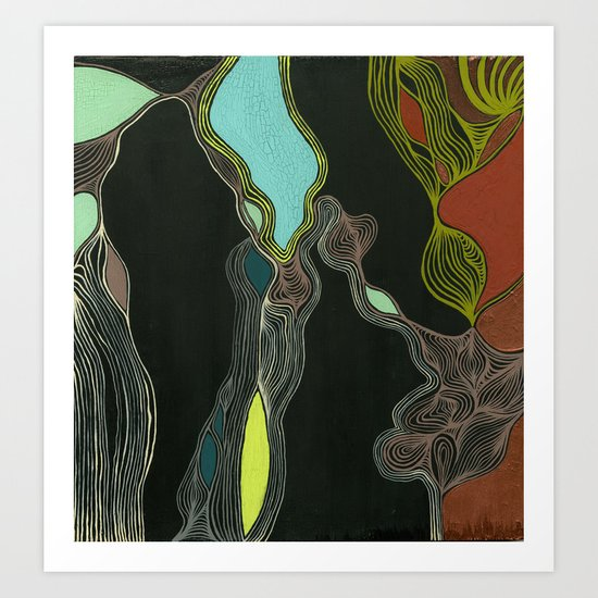 I Wish I Was In Oslo Art Print