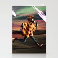 battlefield Stationery Cards featuring Air Raid in the Battlefield by Lukas Stobie