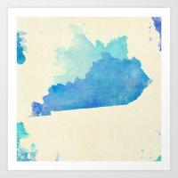 kentucky Art Prints featuring Kentucky Nocturne by Matthew Taylor Wilson