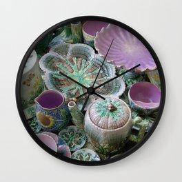 Etruscan Majolica Wall Clock