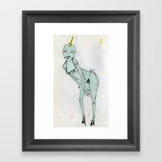 sexy ladies 1 Framed Art Print