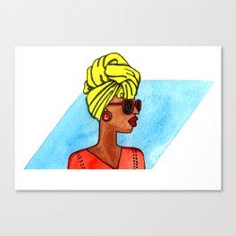 Wrap life Canvas Print