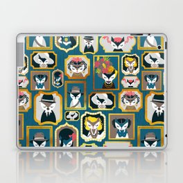Cats wall of fame Laptop & iPad Skin
