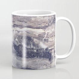 Grungy gray faux marble Coffee Mug