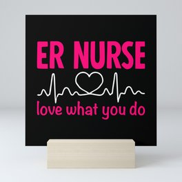 Nurse Mini Art Print