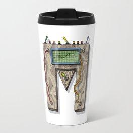 MACHINE LETTERS - M Travel Mug