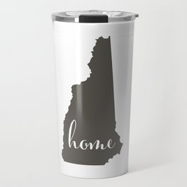 New Hampshire is Home Travel Mug