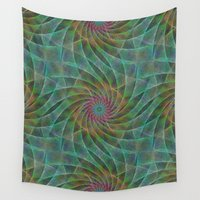 fractal Wall Tapestries featuring Fractal by David Zydd