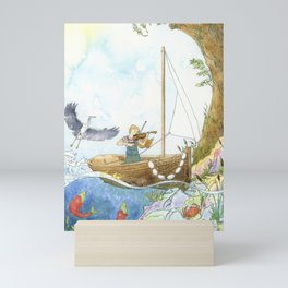 Maritime Festival Celebrations Mini Art Print