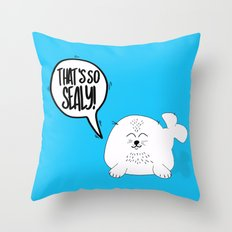 That's so SEALY! Throw Pillow