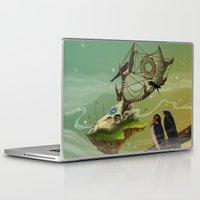 dreamcatcher Laptop & iPad Skins featuring DREAMCATCHER by ANVIK