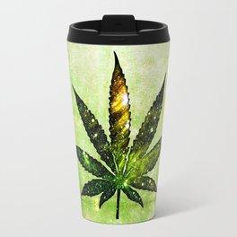 Marijuana Leaf - Design 3 Travel Mug