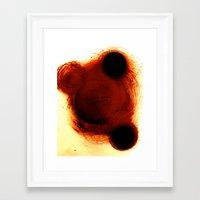 tyler durden Framed Art Prints featuring Tyler Durden... by Jean-Philippe Richard-Charman