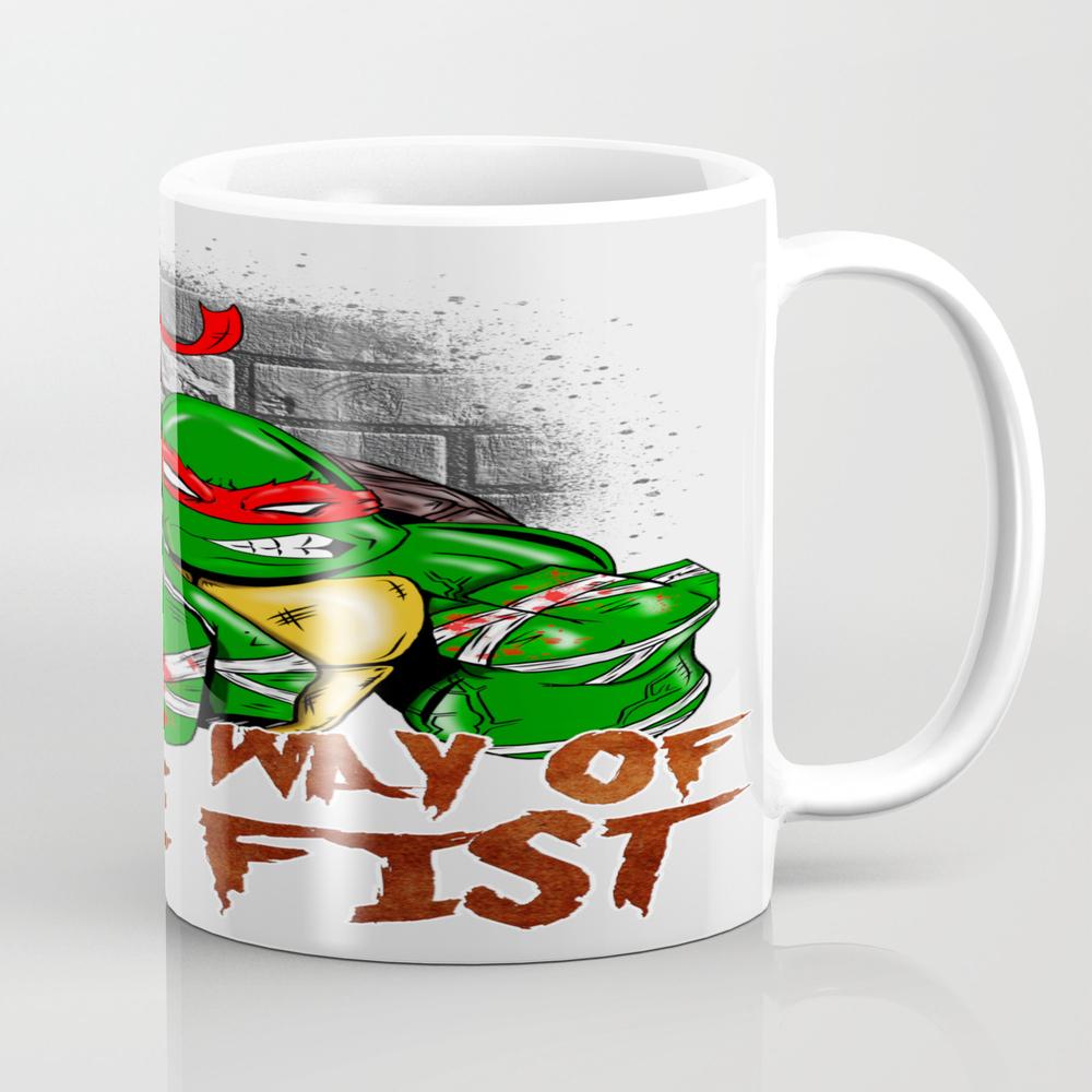 Way Of The Fist Tea Cup by Nicitadesigns MUG8924544