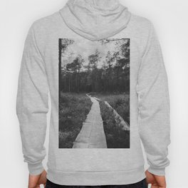 The Path in Finland (Black and White) Hoody