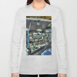 Guy Arab Bus Engine Long Sleeve T-shirt
