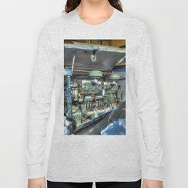 Guy Arab Bus Engine Long Sleeve T-shirt