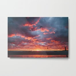 This Is Home | Muskegon, MI Metal Print