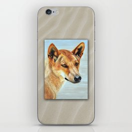 The Original Red Dog iPhone Skin