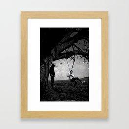 life & dead Framed Art Print