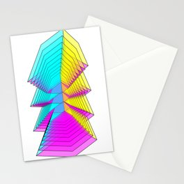 Cubes 4 Stationery Cards