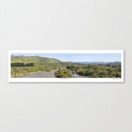 Ventura River Valley Canvas Print