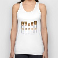 lab Tank Tops featuring Lab Vials by THEPALMER