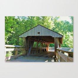 The Covered Bridge at Wildwood Canvas Print