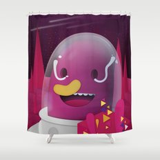 Inter Something Unimportant Shower Curtain