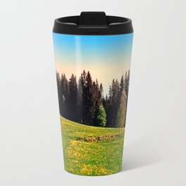 Outdoors in sunny spring Travel Mug