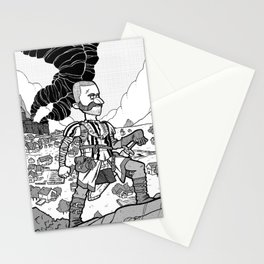 The King is Dead Stationery Cards