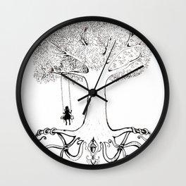 Mighty Oak from Acorns Grow Wall Clock