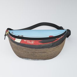 Hovercraft on the Beach Fanny Pack