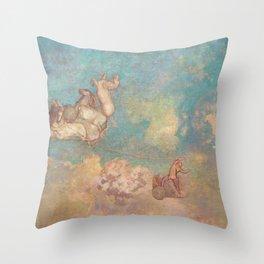 The Chariot of Apollo Throw Pillow