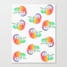 karma chameleon Canvas Print