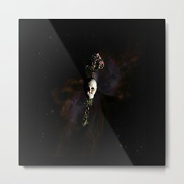 The Seventh Sanctuary in Space Metal Print