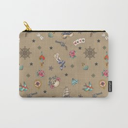 Sailor Tattoo Pattern Carry-All Pouch