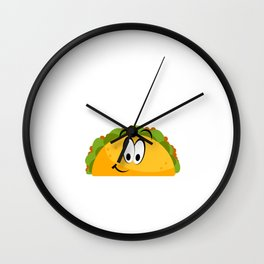 Pray and talk about Jesus Taco Wall Clock